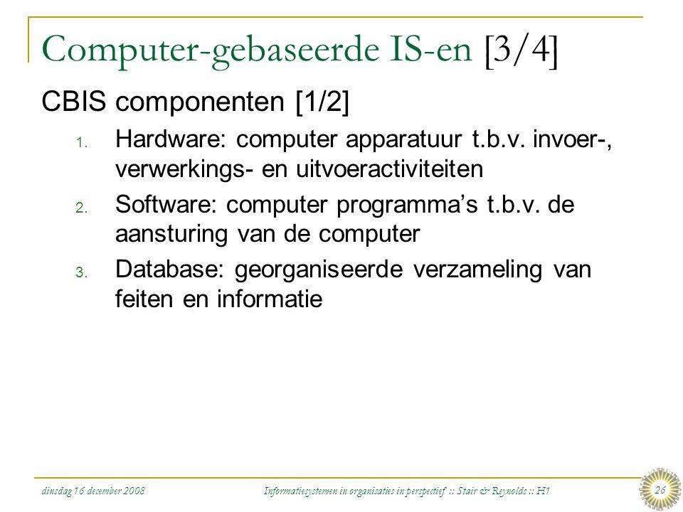 Computer-gebaseerde IS-en [3/4]